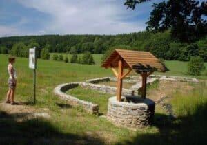 Zaniklá vesnice Bystřec